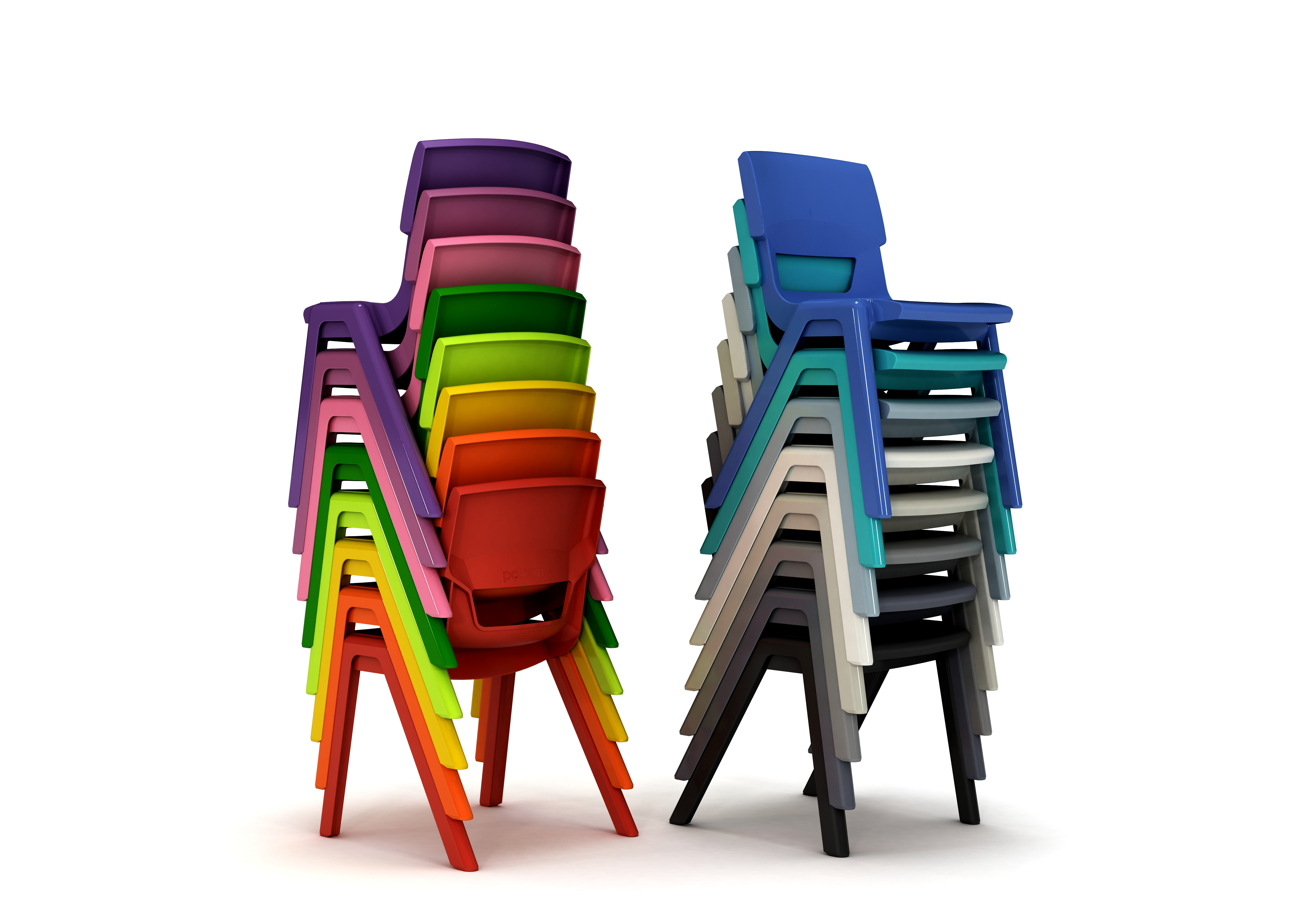 Postura-Plus-Stacked-Chairs-Standard-Colour-Range