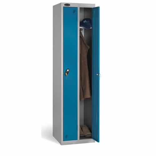 Probe-Lion-Steel-Slimline-Locker-Blue