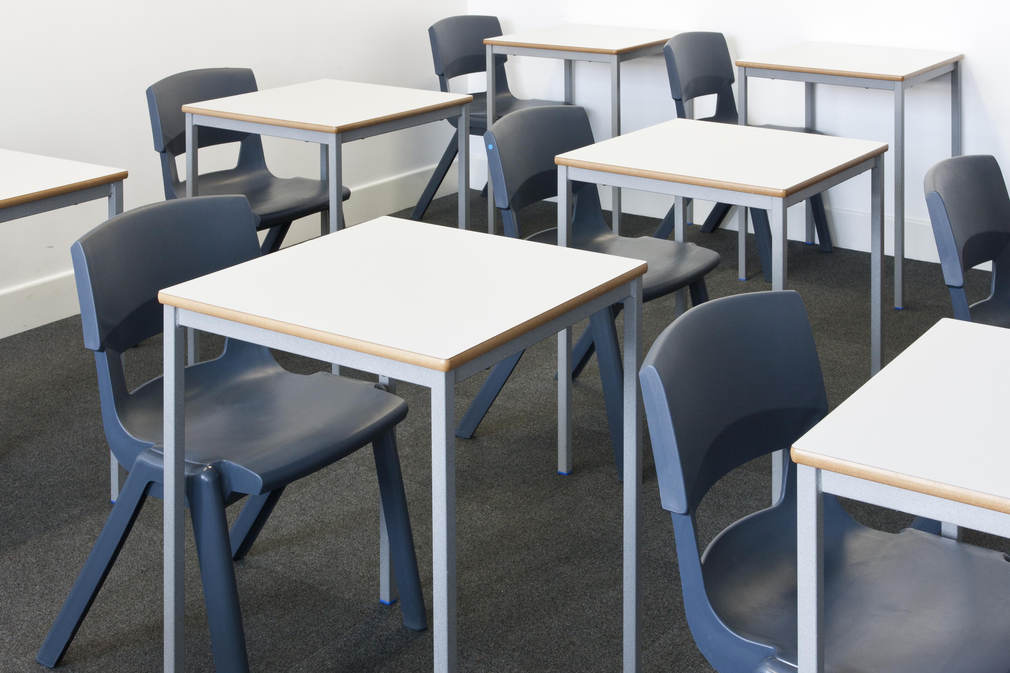 Dark-Blue-Postura-Plus-Chairs-In-Classroom-Set-Up