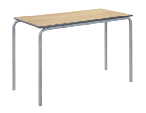 Rectangular Crush Bent Classroom Table