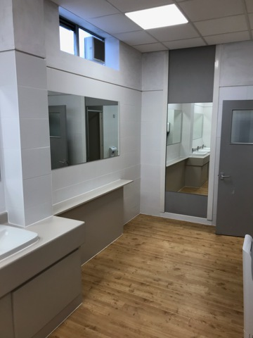Refurbished Executive Toilets Room View