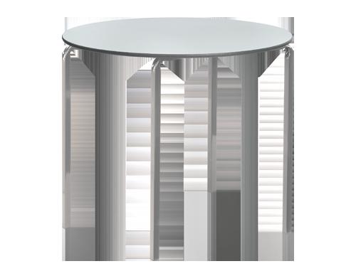 Reliance Circular Crush Bent Frame Classroom Table
