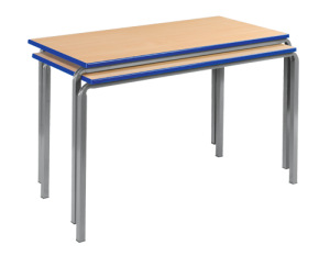 Reliance Crush Bent Frame Classroom Tables Rectangular