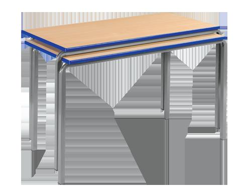 Reliance Crush Bent Frame Classroom Tables Rectangular