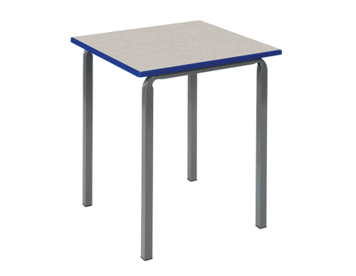 Reliance Square Crush Bent Frame Classroom Tables