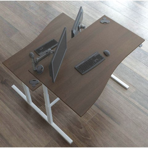 Rise-Wave-Top-Electrical-Height-Adjustable-Desk-Birdseye-View
