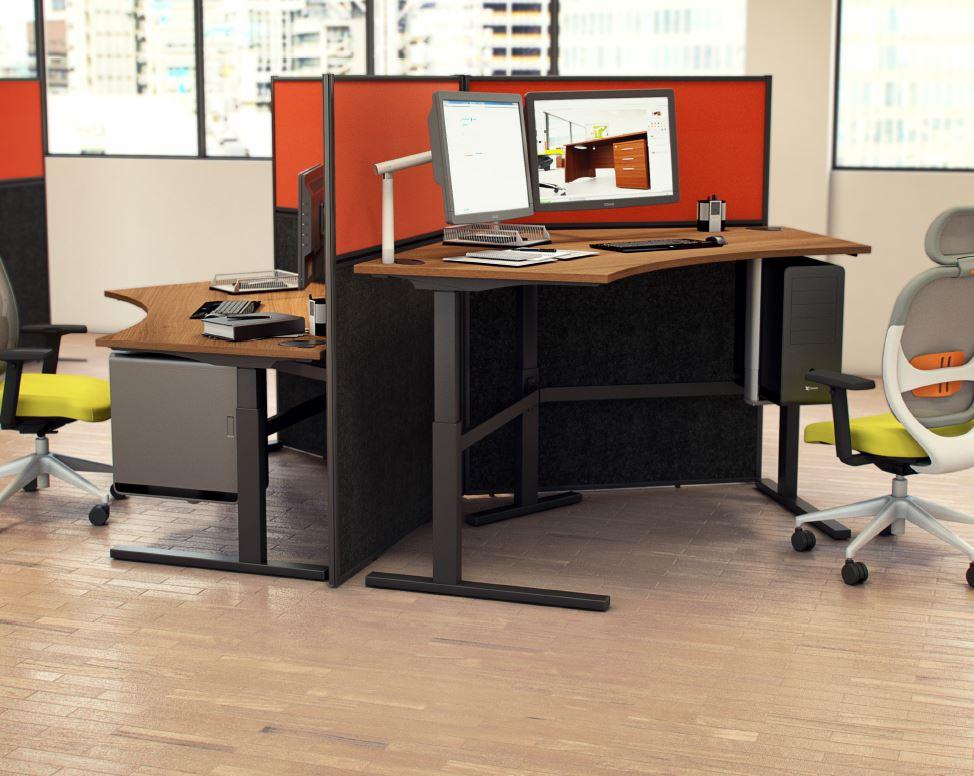 Rise Height Adjustable Desks Wave Office
