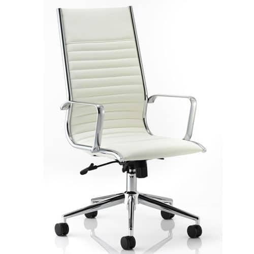 Ritz-Leather-Modern-Executive-Office-Chair-White-Chrome
