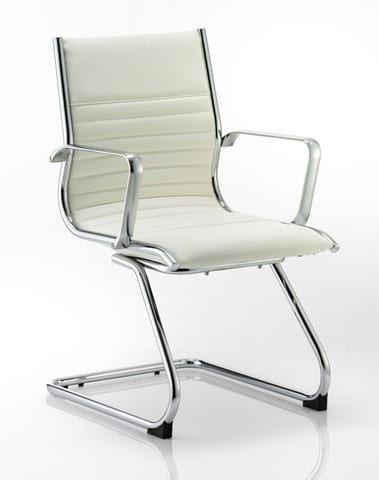Ritz-Ivory-Bonded-LEather-Cantilever-Frame-Meeting-Chair