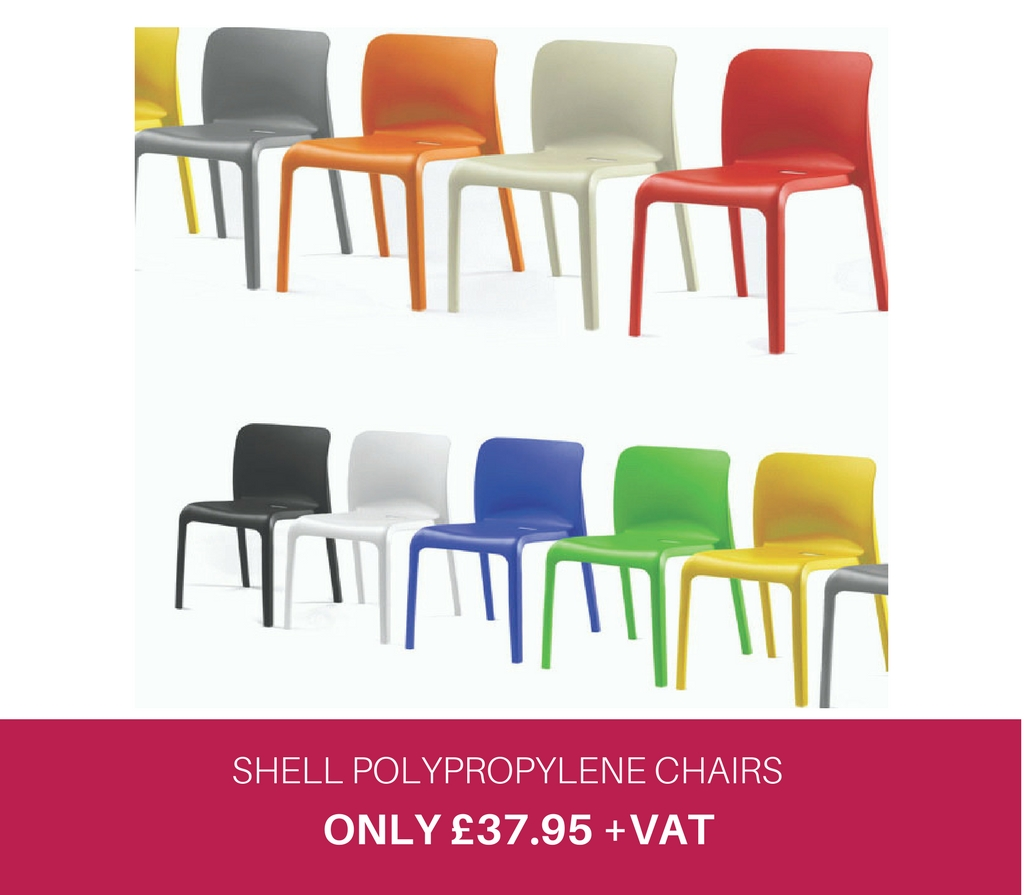 Shell Polypropylene Chairs
