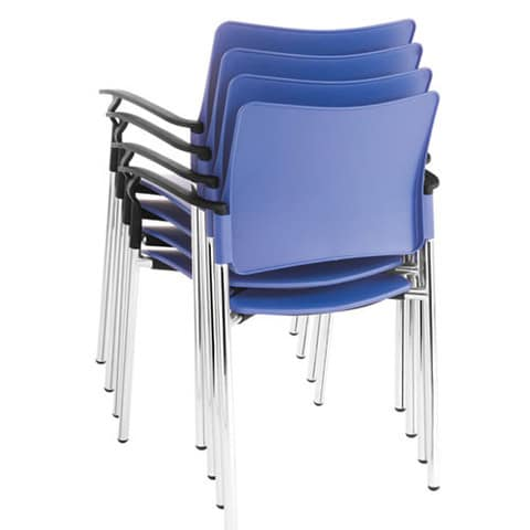SJX-Plastic-Stacking-Conference-Chairs-With-Arms
