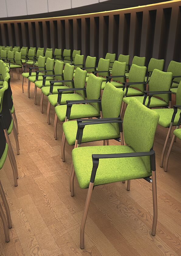 SJX Fully Upholstered Conference Chairs