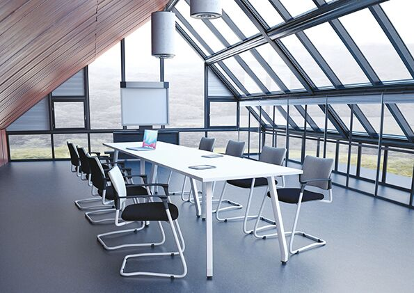 Fully Upholstered SJX Boardroom Chairs