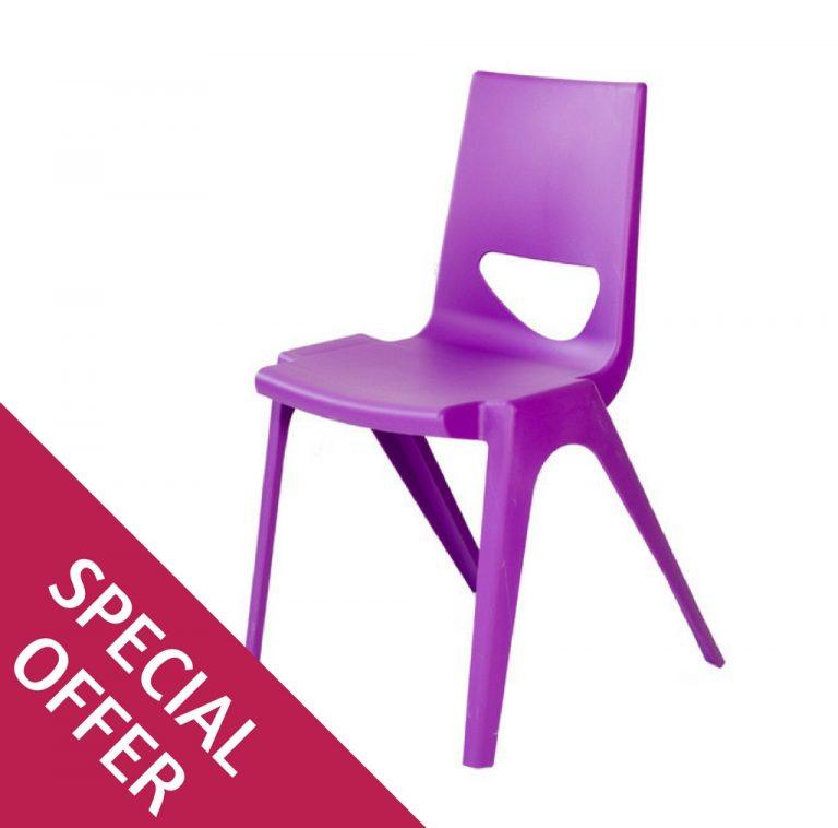 En One Chair Purple