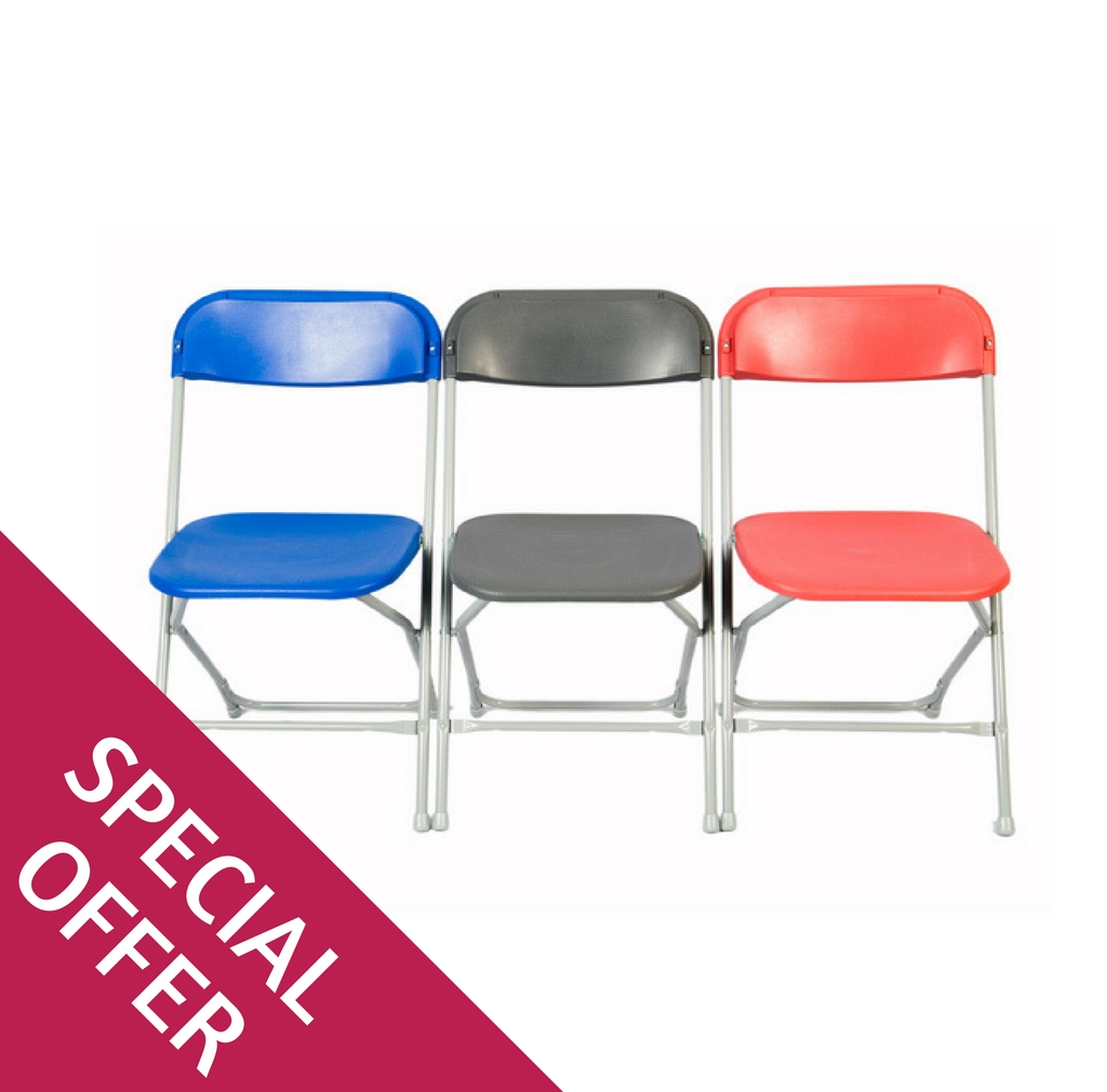 Zlite Folding Chairs Straight Back Special Offer
