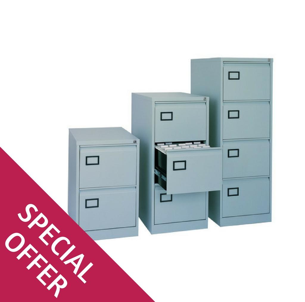 Bisley AOC Suspension Filing Cabinets Range