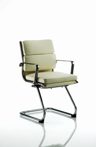 Savoy-Ivory-Leather-Cantilever-Frame-Conference-Chair