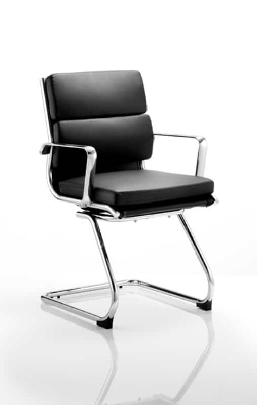 Savoy-Black-Leather-Cantilever-Frame-Conference-Chair-With-Arms