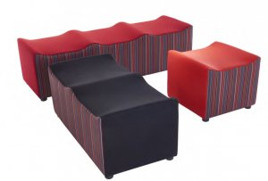 Moulded-Modular-Soft-Seating