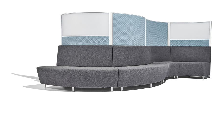 Screentek-Curved-Part-Glazed-Marathon-Office-Screens-With-Sofas Set-Up