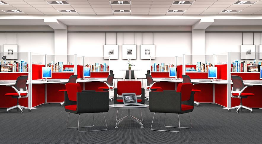 Screentek-Marathon-Red-Office-Screens
