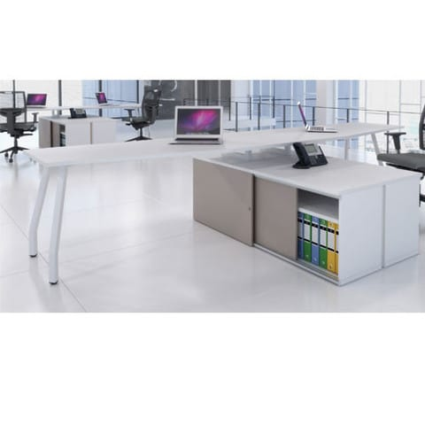Script-Add-On-Desk-White-with-Structural-Shelving