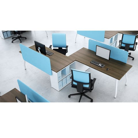 Script-Rectangular-Top-Desks-White-Frame-In-Situ-Set-Up