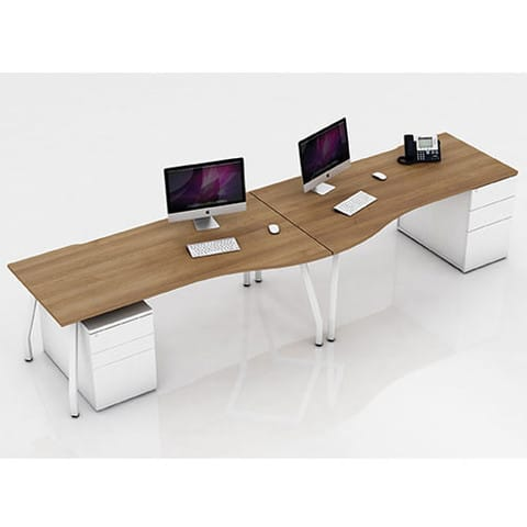 Script-Wave-Top-Desk-White-Frame