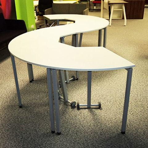 SEGMENT MODULAR TABLES Wave Office LTD - Modular meeting table
