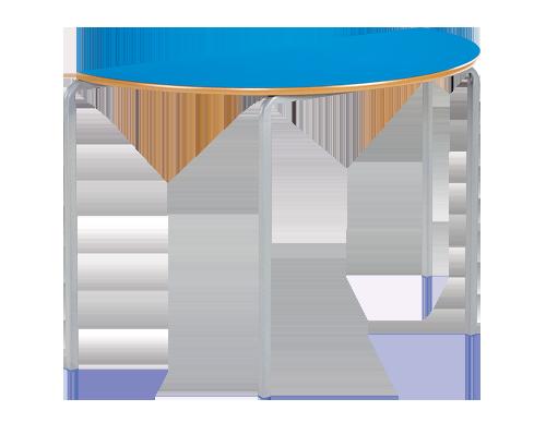 Semi-Circular Crush Bent Classroom Table