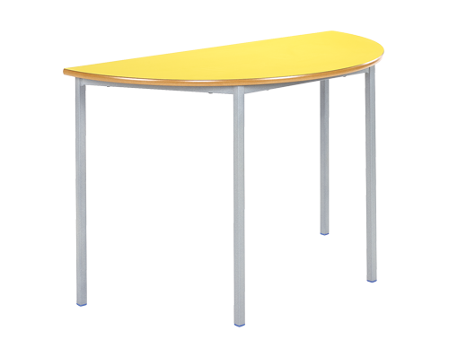 Semi Circular Fully Welded Classroom Table