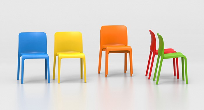Shell Plastic Chair Colours