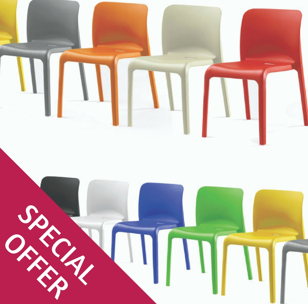 Shell Ploypropylene Chairs Special Offer