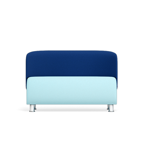 Solent Modular Sofa Two Tone Blue