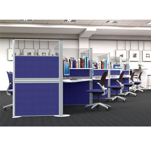 Sprint-Floorstanding-Office-Partitions-Example-Set-Up