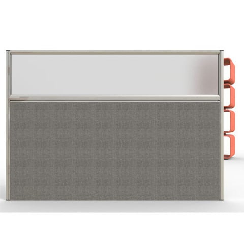Sprint-Freestanding-Office-Partition-with-Opaque-Top-Panel