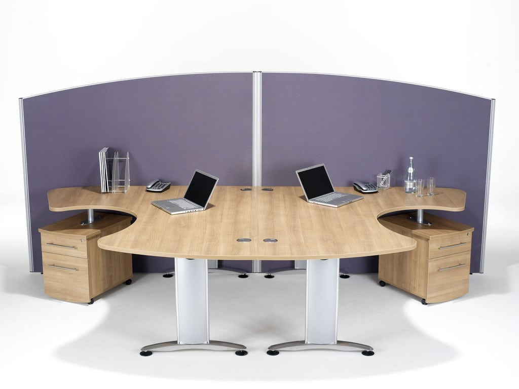 Sprint-Floorstanding-Curved-Top-Office-Partition