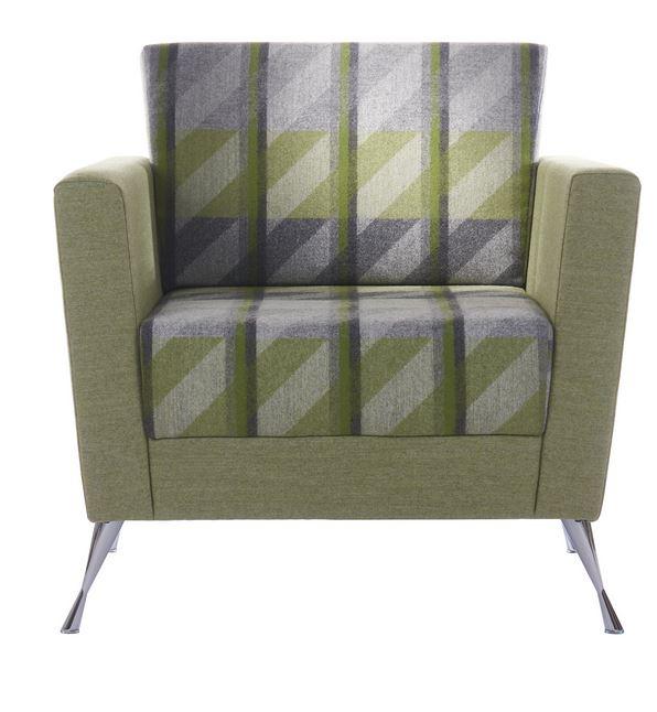 Stanza Armchair Chrome Legs