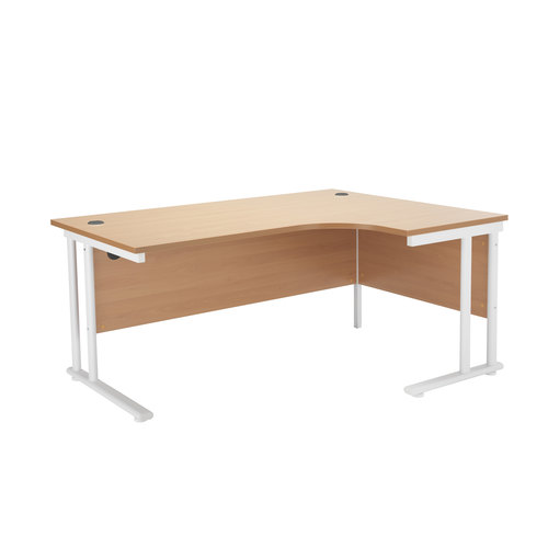 Start Crescent Cantilever Desk