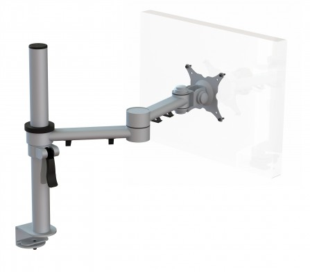 Streamcomb Monitor Arm with Baby C Clamp Fixing