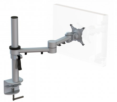 Streamcomb Single Monitor Arm with C Clamp