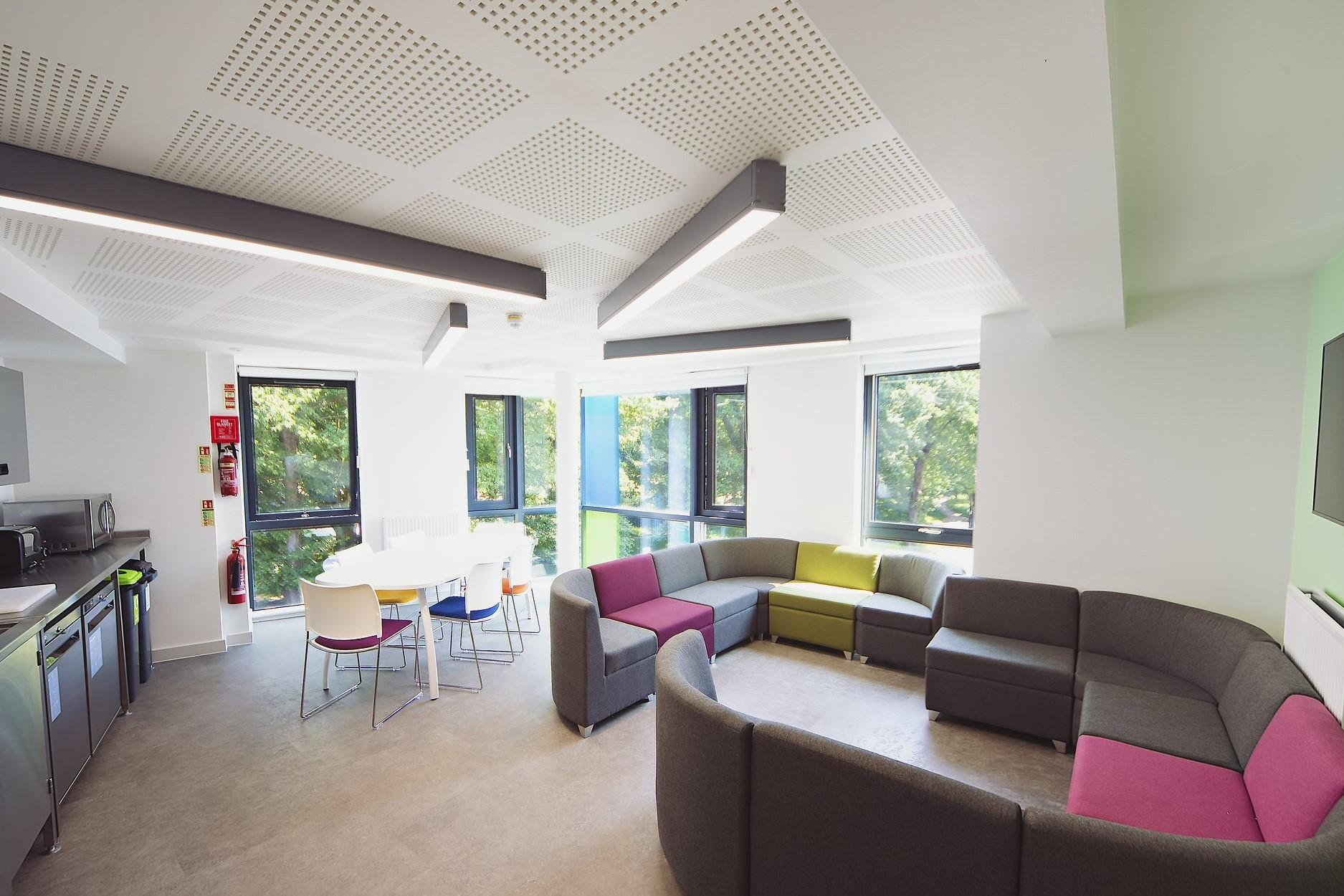 Studnet Lounge Area Refurbishment