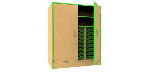 The-Edge-Gratnells-Tray-Storage-Unit-with-Shelving-and-Doors
