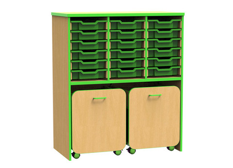 The-Edge-Gratnells-Tray-Storage-Unit-with-Mobile-Storage-Modules