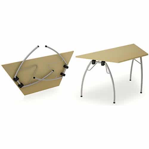 Telford Fold Leg Meeting Tables Trapezium