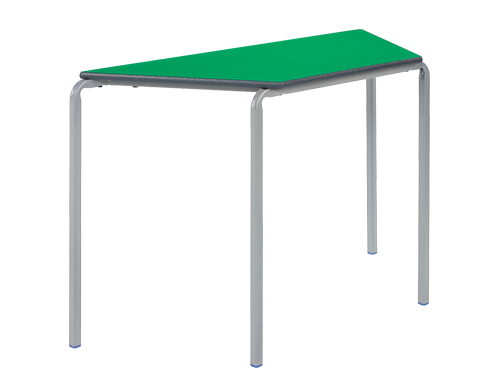 Trapezoidal Crush Bent Classroom Table