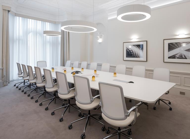 Trinetic Chair In Meeting Room
