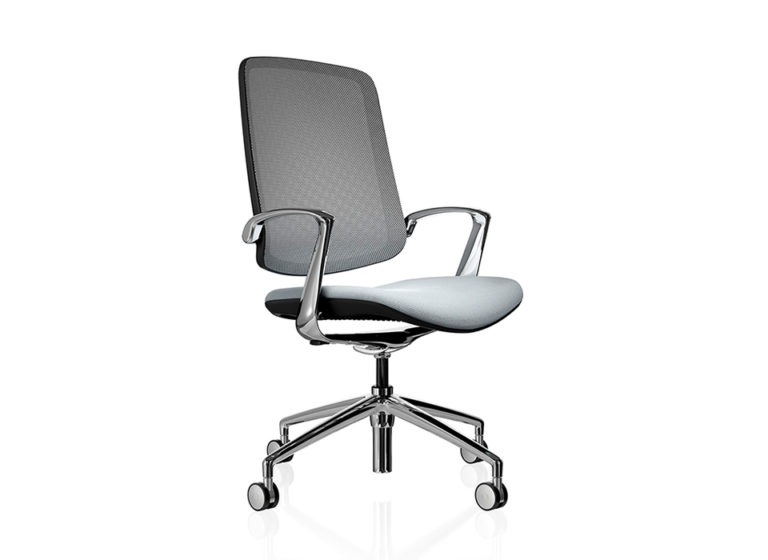Trinetic Grey Mesh Task Chair
