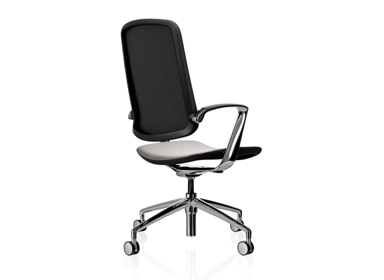 Trinetic Task Chair Back View