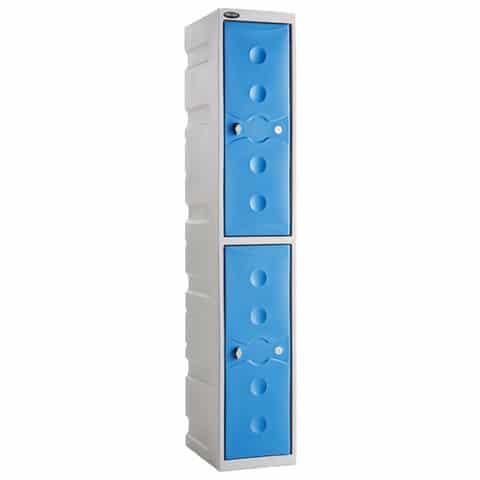 Ultrabox-Double-Plastic-Locker-Unit